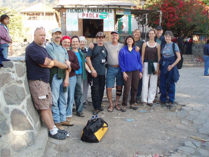 group photo - mason on a mission in guatemala