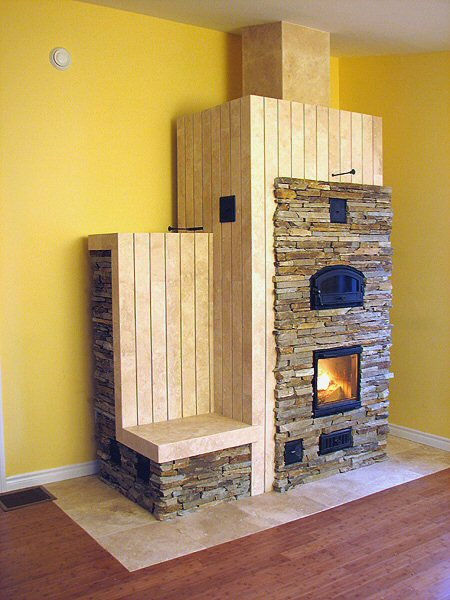 Masonry heater by Alex Chernov