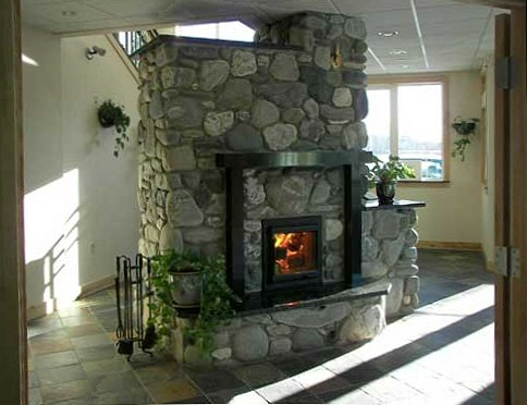 Masonry heater by Dan Givens