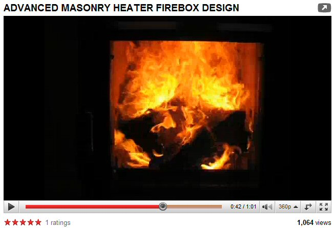 Masonry heater by Stan Homola