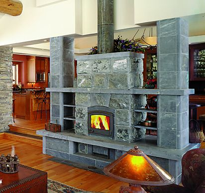 masonry heater by Ron Pihl