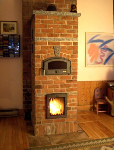 Small brick heater by Martin Palmer