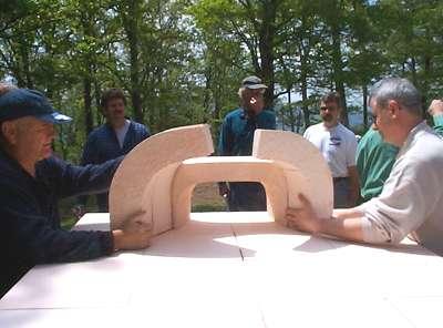 Le Panyol oven workshop