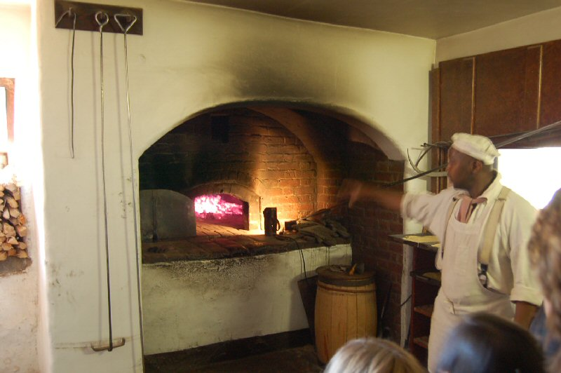 oven at Old Salem