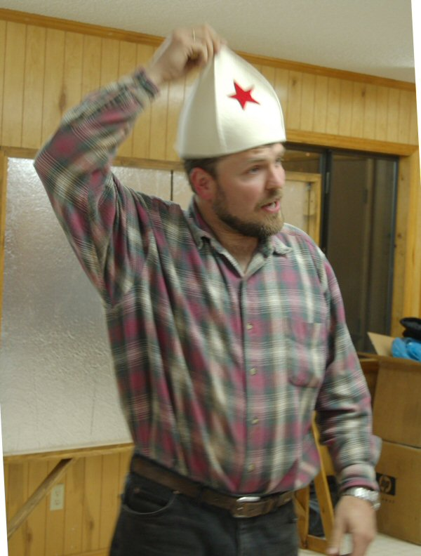 Russian sauna hat
