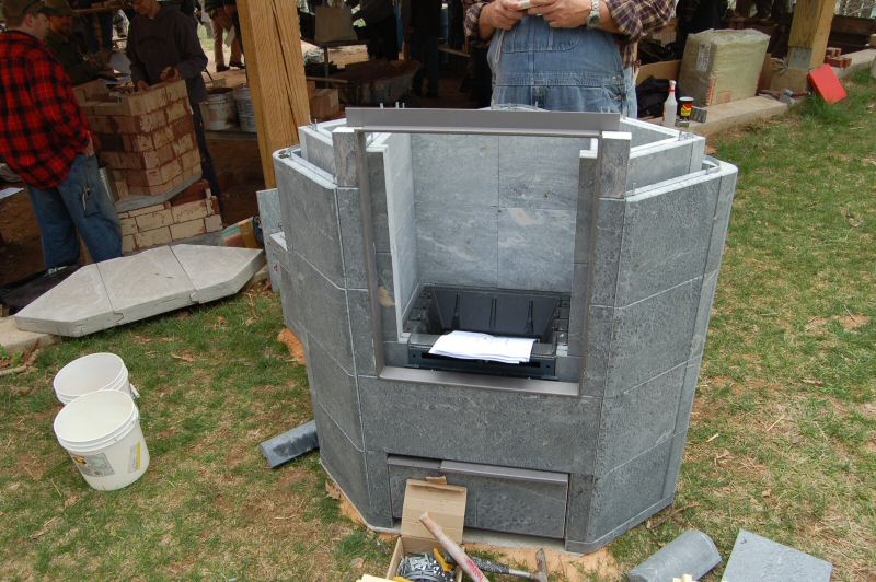 Tulikivi Kouta C Workshop with Doug Hren - Masonry Heater Association