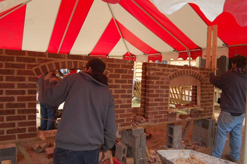 Arch Workshop with Chris Prior - Masonry Heater Association