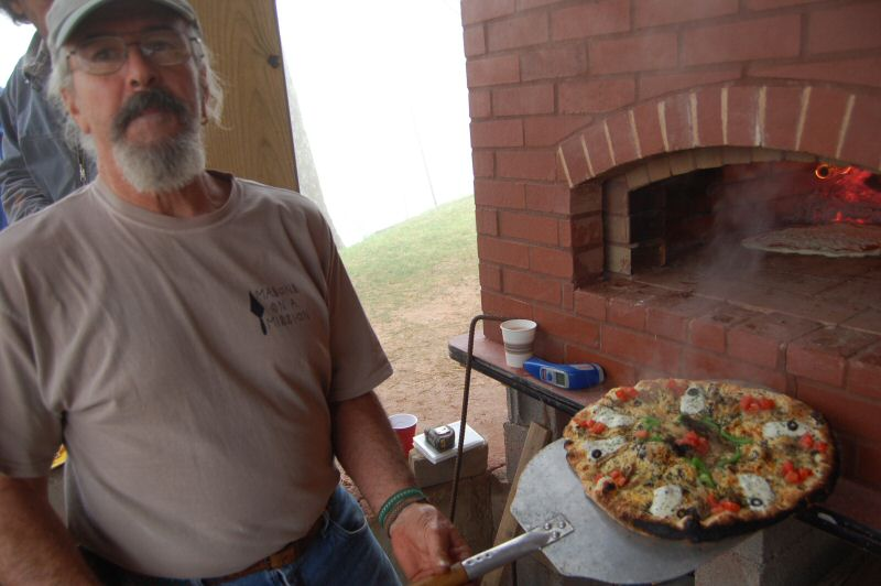 Brick Bake Oven with Pat Manley