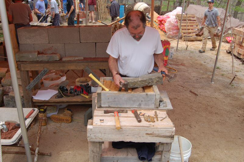 Stone Facing Workshop with Steve Bushway - Masonry Heater Association of North America