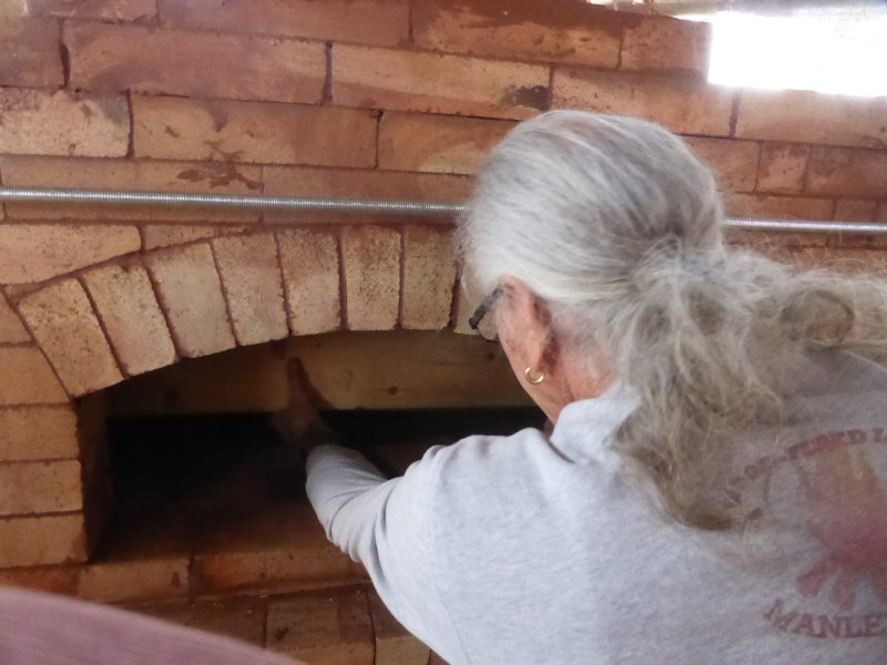 Pizza oven workshop with Pat Manley